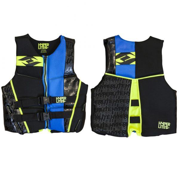 Hyperlite Prime Mens Neoprene Life Vest Flex Back 2017